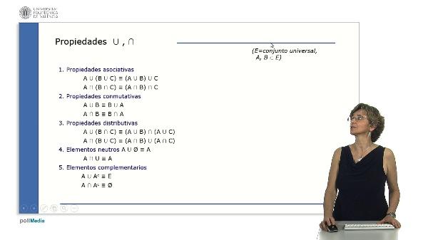 Propiedades booleanas de la teoría de conjuntos