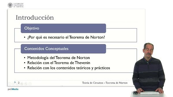Teoría de Circuitos - Teorema de Norton
