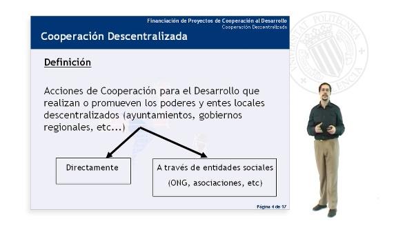 Cooperación Descentralizada (II)