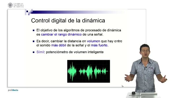 Control digital de la dinamica