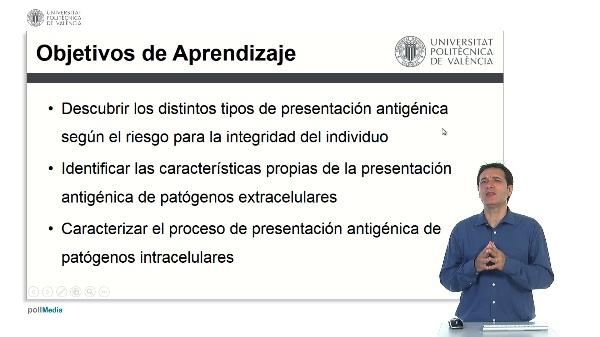 Tipos de Presentación Antigénica.