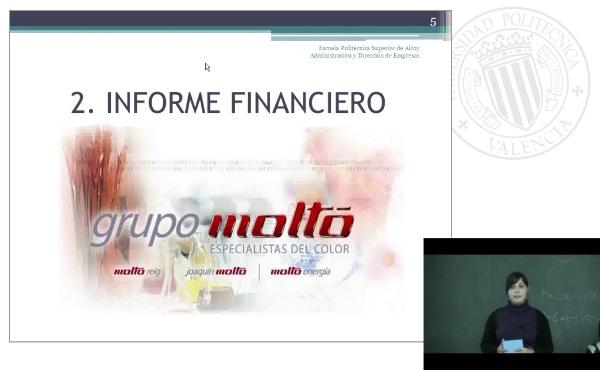 Anñalisis de la situación económica y financiera de la empresa JoaquÃ-n Moltó S.L.