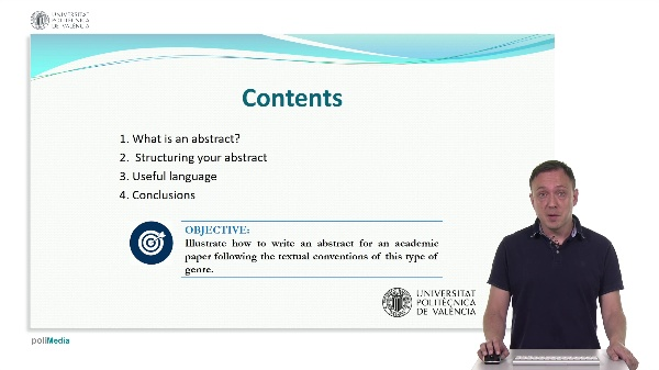 How to write an abstract in English