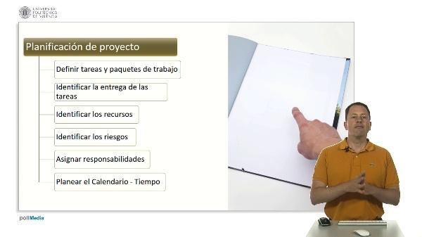 Gestión de proyectos. Planificación