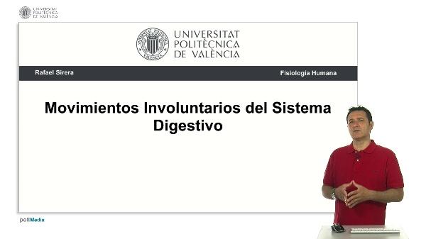 Movimentos involuntarios del sistema digestivo
