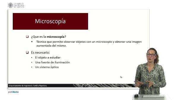 Introducción a la Microscopía