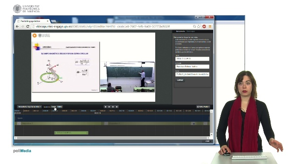 Generar un nuevo vídeo derivado