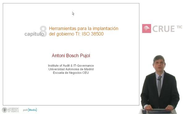 Herramientas para la implantación  del gobierno TI: ISO 38500