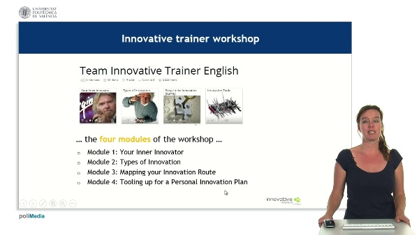 Innovative trainer e-learning resources