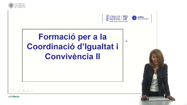 Formació per a la Coordinació d¿igualita i Convivència II Introducción