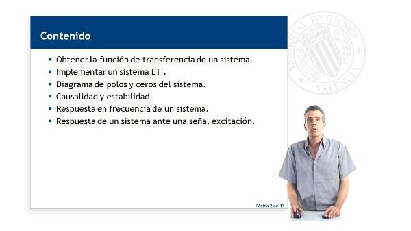 TRANSFORMADA Z: Aplicación a sistemas LTI