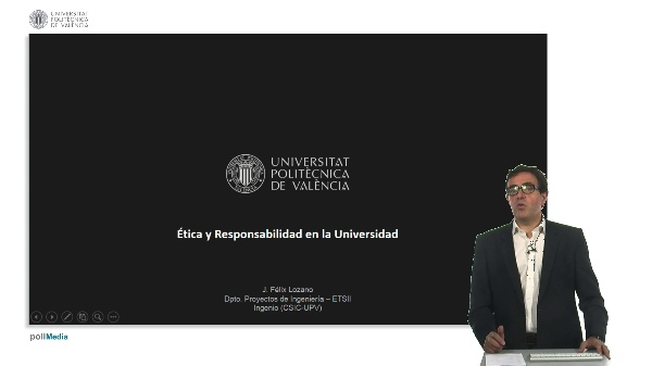 Introducción ética y responsabilidad en la universidad.