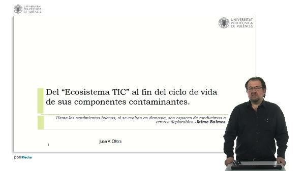Ecosistema TIC y ciclo de vida.
