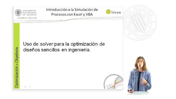 Presentacion. SiPAQ-3: Simulacion de Procesos Ambientales y Quimicos con Excel?