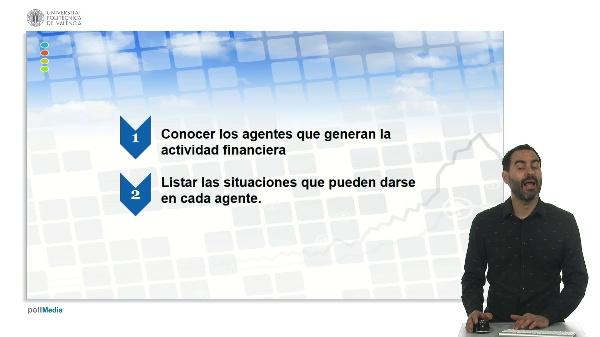 U.1. El sistema financiero. 3 Actividad financiera y sistema financiero. 3.1. origen.