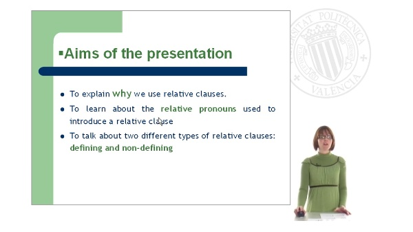 Relative Clauses: Part I