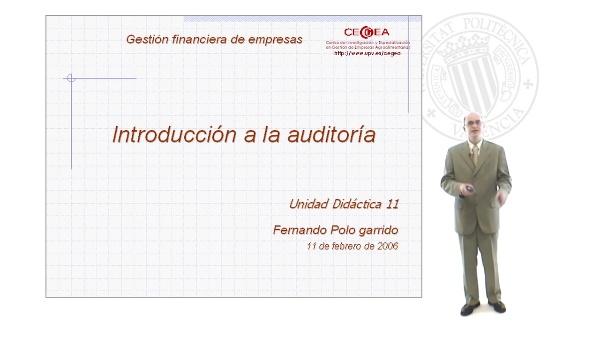 Introducción a la Auditoría: Concept, Clasificación, Evolución Histórica y Regulación en España