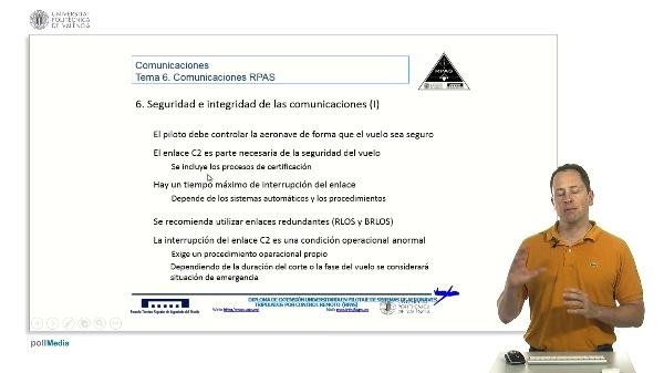Máster pilotaje rpas. Seguridad e integridad comunicaciones RPAS