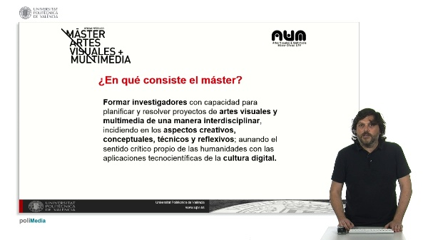 Master en Artes Visuales y Multimedia