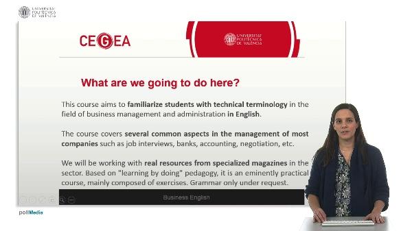 Bussines English presentation