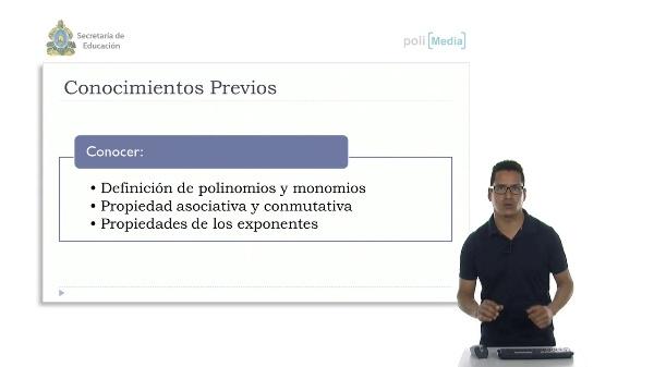 Multiplicación y división de Monomios