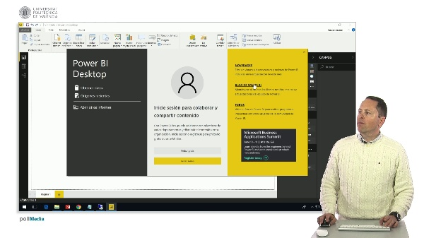 MOOC Power BI. Iniciar PowerBI Desktop