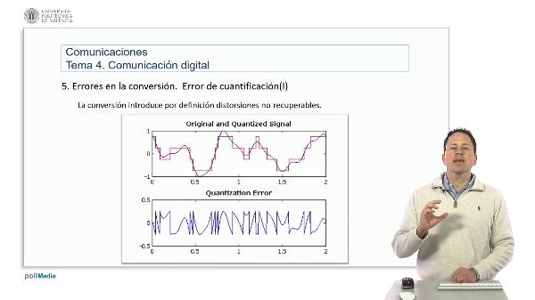 Introducción a las radiocomunicaciones. Fuentes de error en la conversión analógico-digital