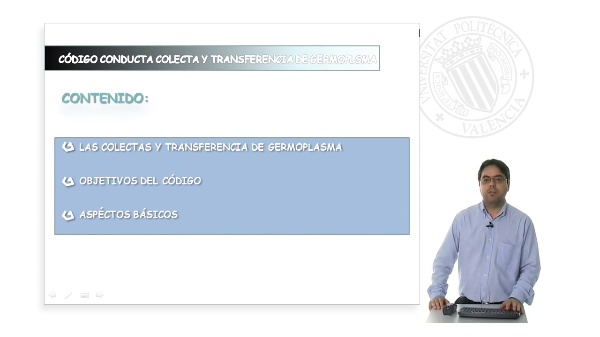 Código internacional de conducta para la colecta y transferencia del germoplasma