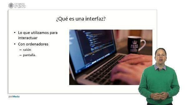 Proceso de datos e interfaz de usuario. Interfaz de usuario