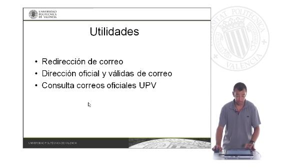 Utilidades Adicionales Correo UPV