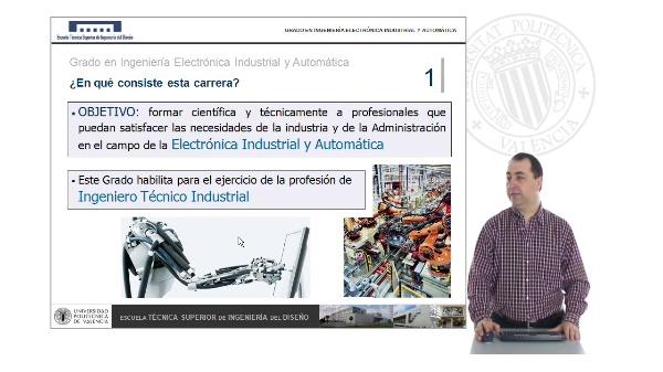 Grado en Ingeniería Electrónica Industrial y Automática