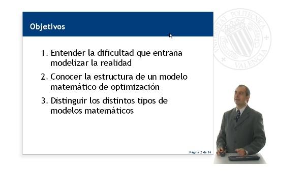 Modelo matemático de optimización