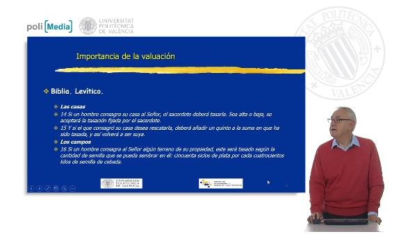 Importancia de la valoración. Definición