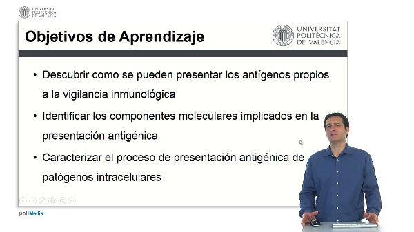 Presentación de antígenos propios