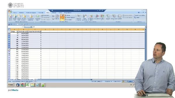 Excel. Uso del filtro automático para limpiar datos. Seleccionar celdas visibles