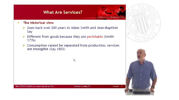 Services Marketing: What are Services