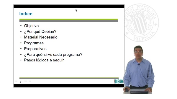 Requisitos para realizar una distribución Debian en una memoria USB