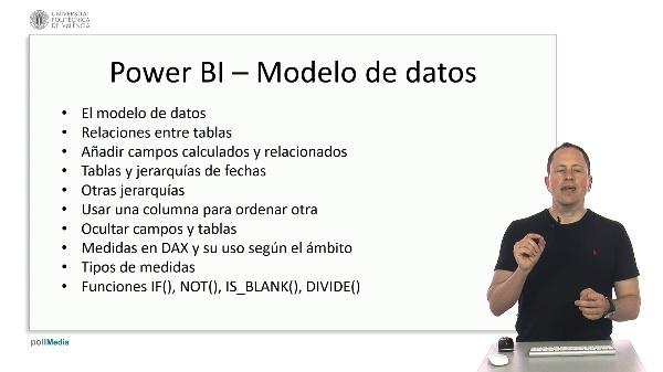 MOOC Power BI. Resumen módulo modelo de datos