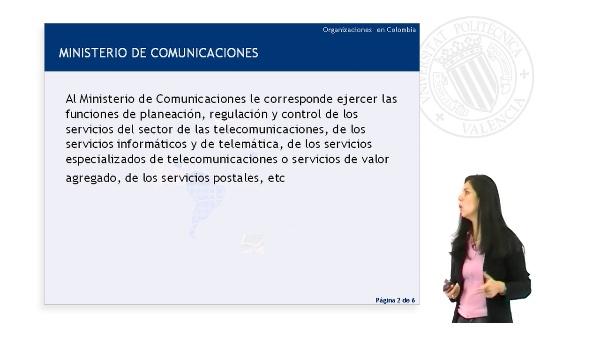 Organizaciones en Colombia