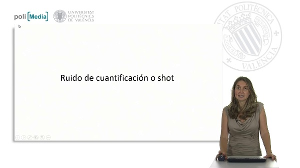 Ruido de cuantificación o shot