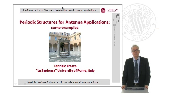 Periodic Structures for Antenna Applications: some examples
