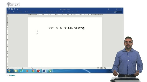 Documentos maestros Word 2016