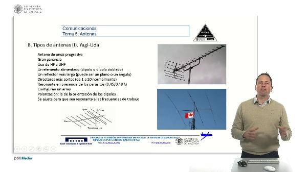Master RPAS. Asignatura comunicaciones. Antena Yagi