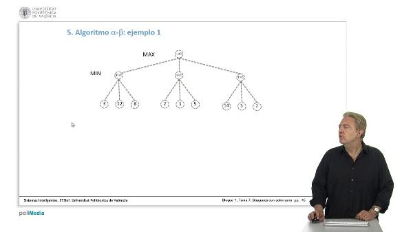 Lección 1.7.5. Algoritmo Alfa-beta: ejemplos