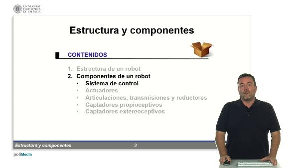 Robótica: componentes - Sistema de control