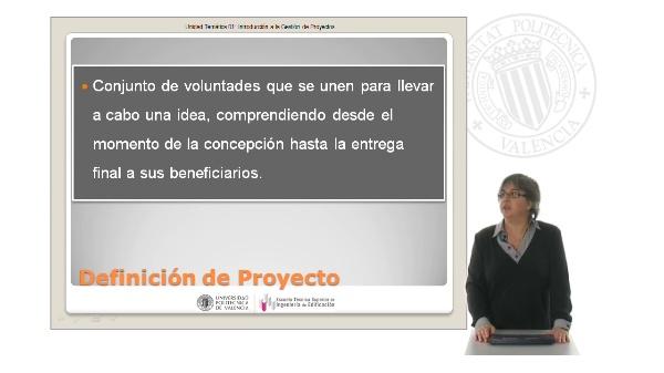 Tema 0.1 Introducción a gestión de proyectos
