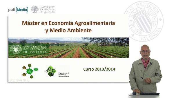 Máster en Economía Agroalimentaria y Medio Ambiente