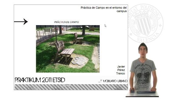 Diseño de mobiliario urbano