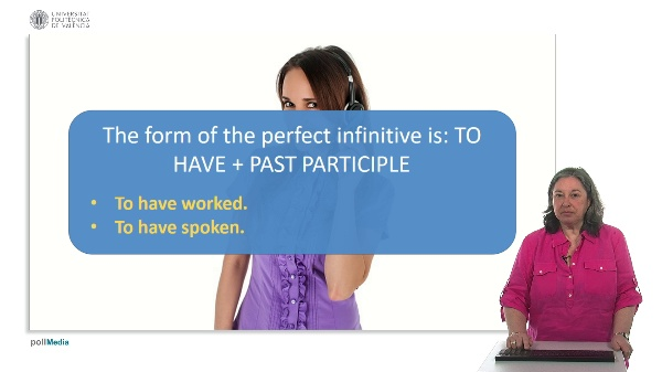 Use of English. Perfect infinitive