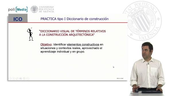 Práctica tipo I Diccionario de construcción
